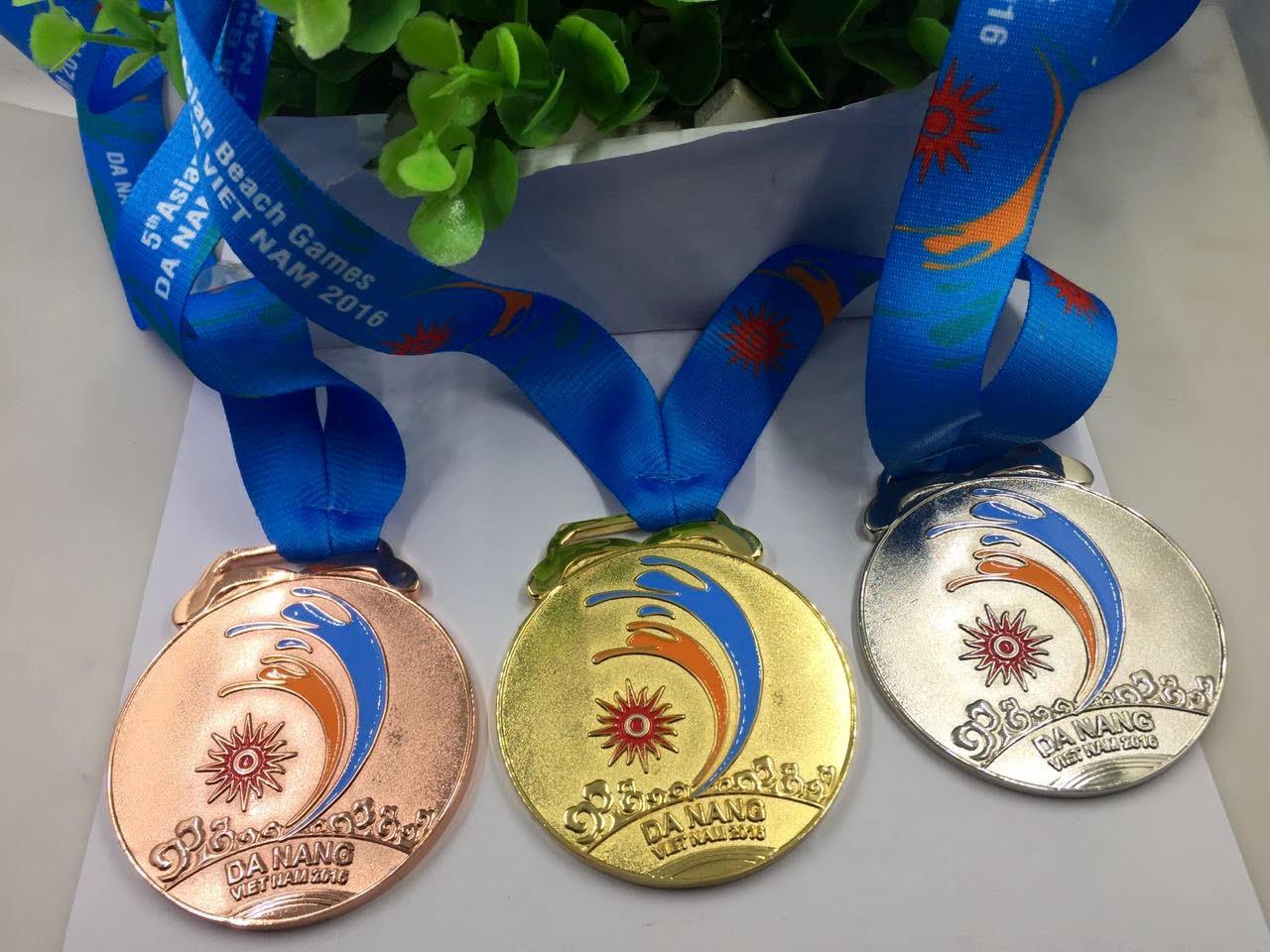 Huy chương 5th Asian Beach Games Đà Nẵng 2016