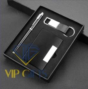 Bộ giftset Quà tặng VIP Namecard bút và móc khóa 04