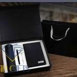 Bộ giftset Quà tặng VIP Sổ bút và bình giữ nhiệt 01