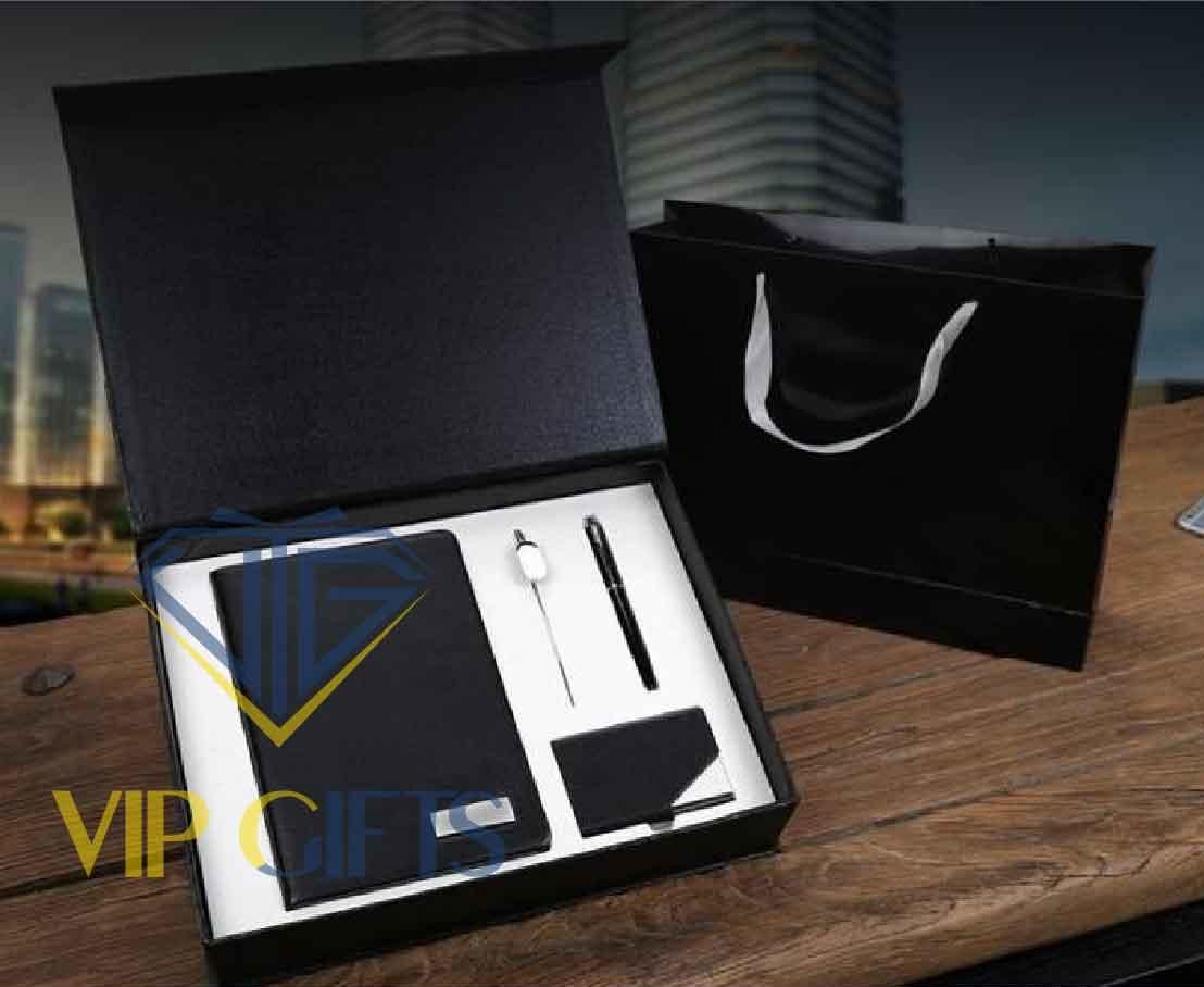 Bộ giftset Quà tặng VIP Sổ bút và namecard 01