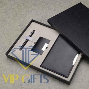 Bộ giftset Quà tặng VIP Sổ bút và namecard
