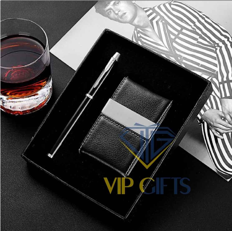Bộ giftset Quà tặng VIP bút namecard 03