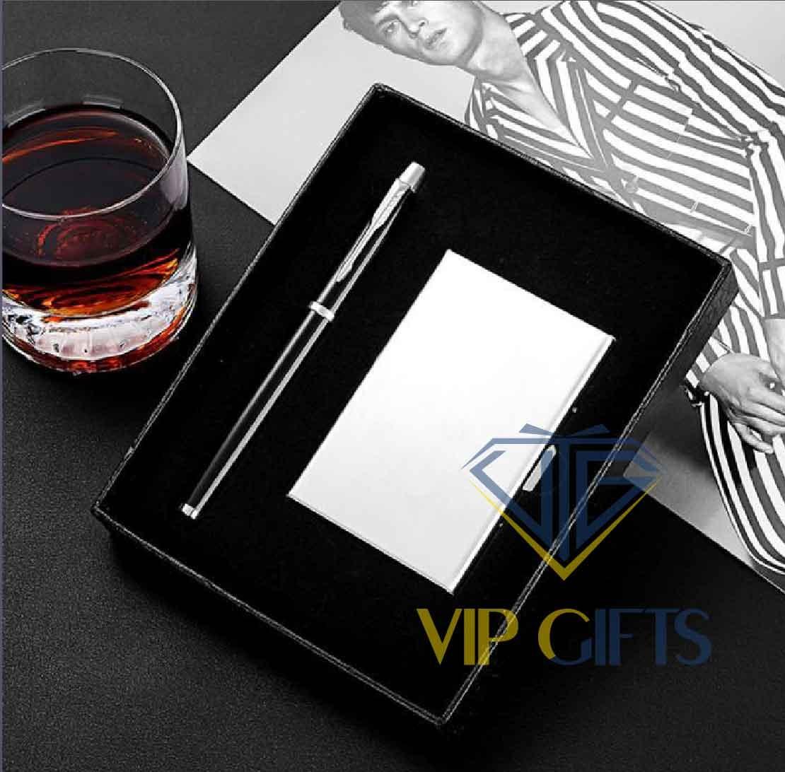 Bộ giftset Quà tặng VIP bút namecard 04