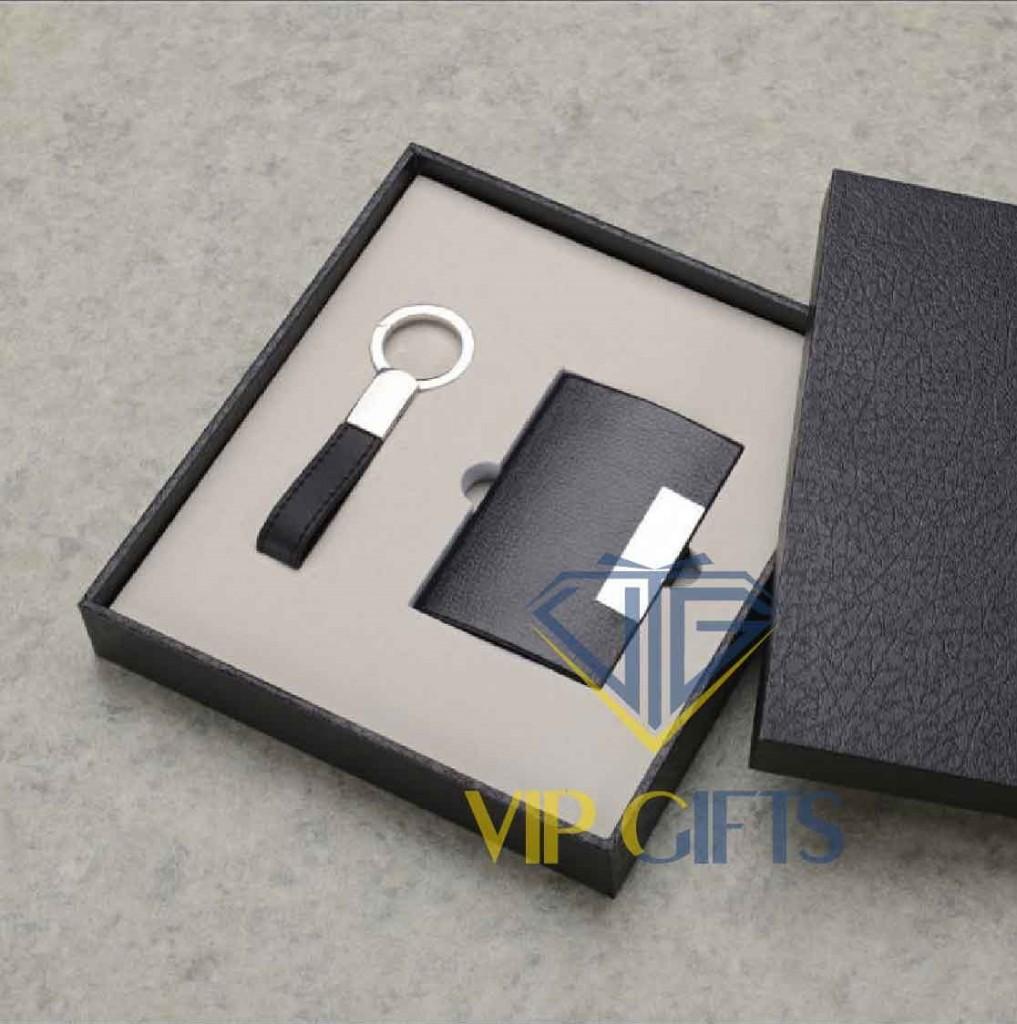 Bộ giftset Quà tặng VIP móc khóa namecard 01