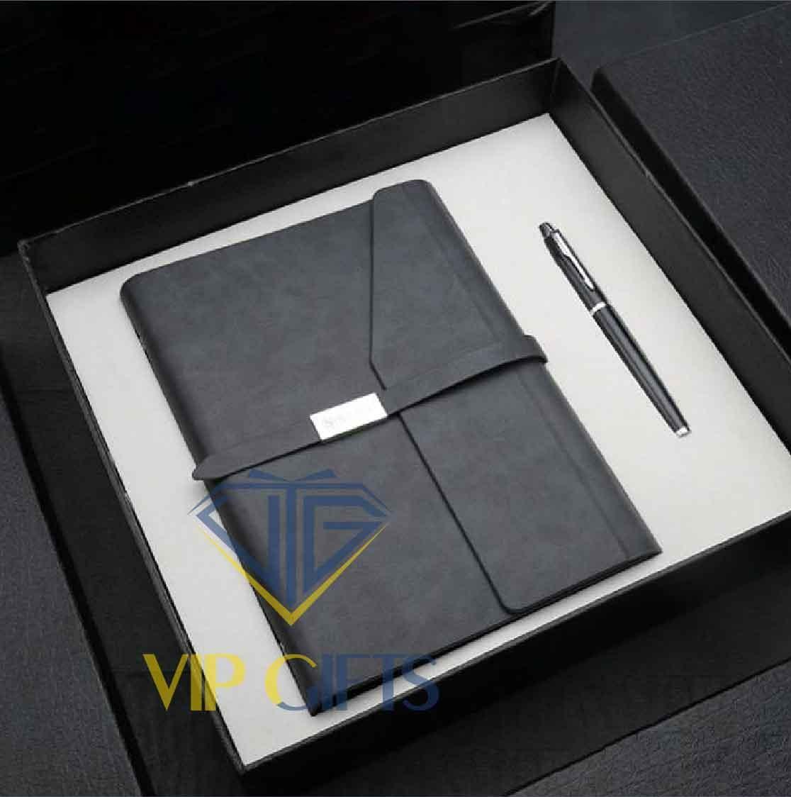 Bộ giftset Quà tặng VIP1 Sổ và bút 02