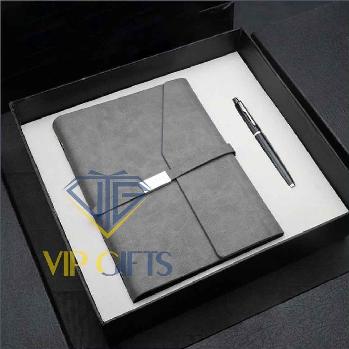 Bộ giftset Quà tặng VIP1 Sổ và bút 03